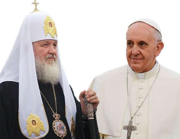 О встрече патриарха и иезуита Франциска. Ольга Четверикова -