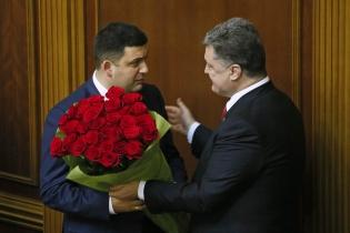 Порошенко  больше не дарит цветы мужчинам