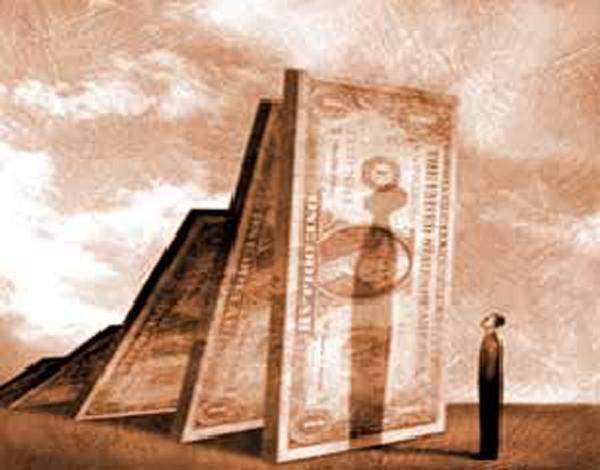 С 1 октября правительство США начнёт процедуру отказа от бумажных долларов и внешних долгов
