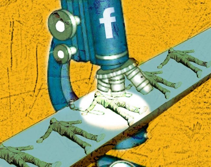 Facebook отслеживает всех – зарегистрированных и не зарегистрированных в сети «Цукерберг, ЦРУ & Сº»