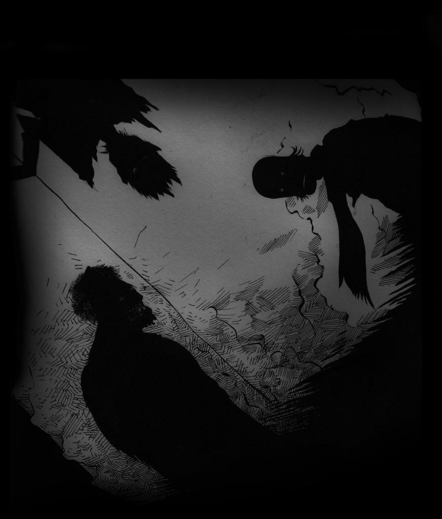 Черные рвут худеньких 9 фотография