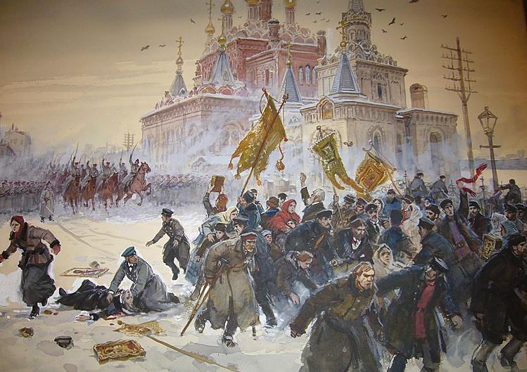 магазинов начало революции 1905 года признаки