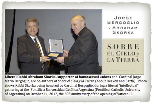 Франциск 1 и пропагандист содомии  раввин Абрам Скорска.jpg