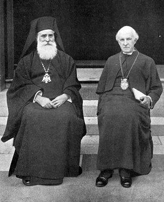 Патриарх Мелетий (Метаксакис) и англиканский архиепископ Ланг.jpg