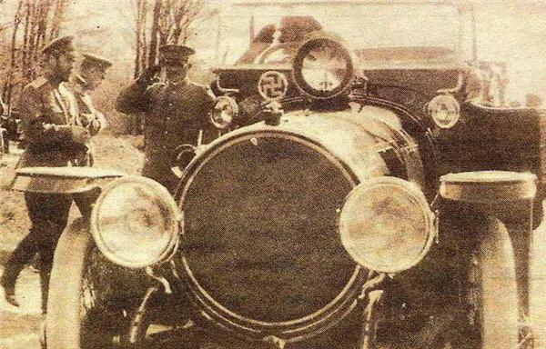 Картинки по запросу Свастика на автомобиле Императора Николая Второго