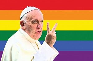Брат п.Кирилла - п.Франциск призвал христиан и Церковь извиниться перед гомосексуалистами