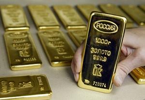 Золото: Россия увеличивает запасы рекорными темпами, Украина - теряет