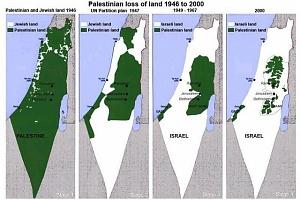 На сегодня евреями украдено уже 92% земель палестинцев