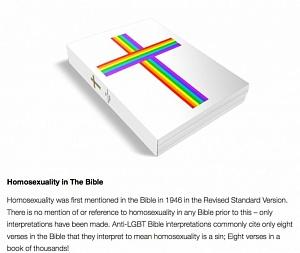 Гомоцензура «подправила» Священное писание: в США издана «Библия» для педерастов