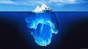 Долг Америки: верхняя и нижняя части «айсберга».