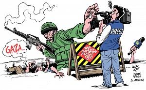 Глобальные СМИ игнорируют израильскую войну против Палестины height=186
