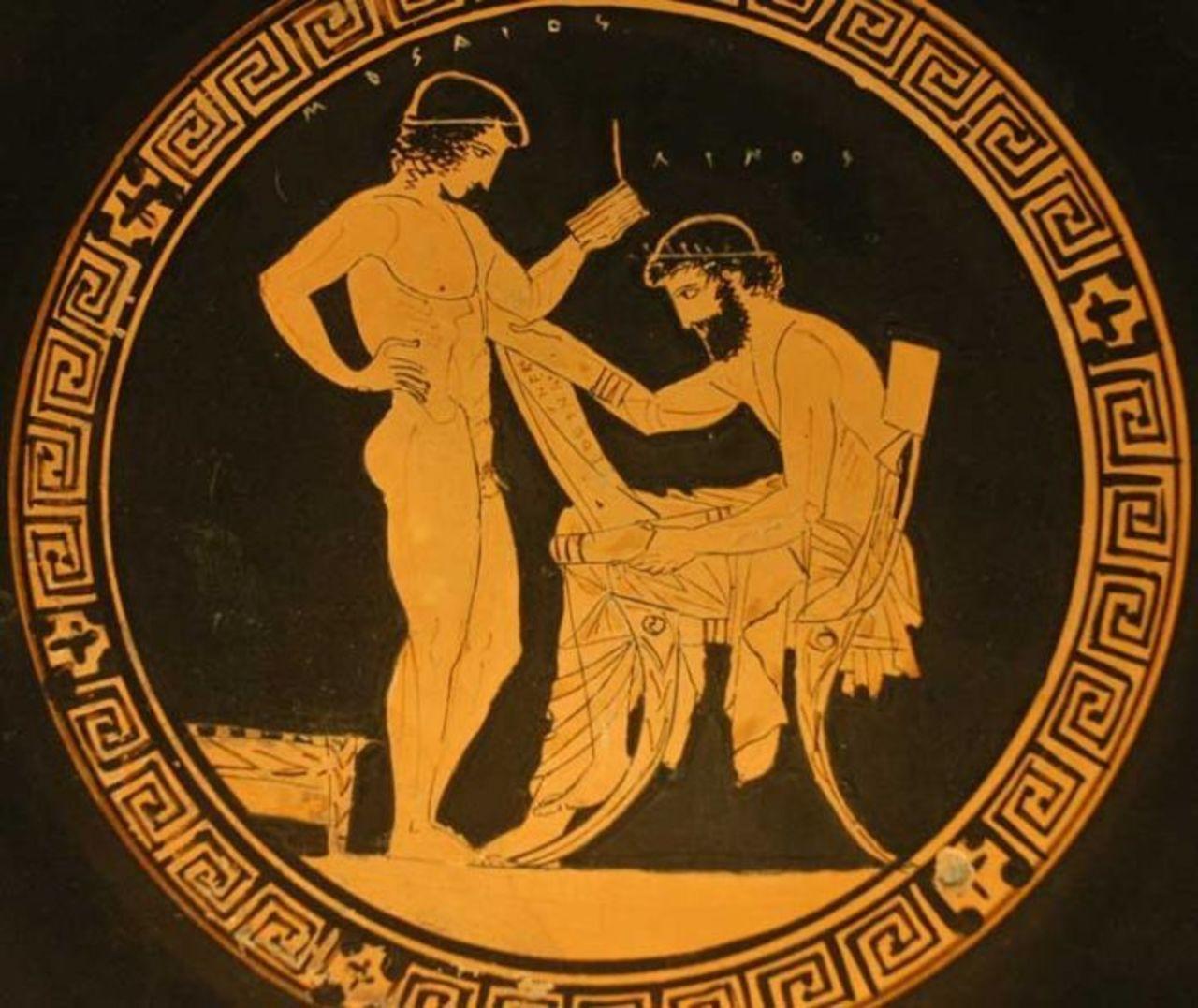 Гомосексуализм во времена классической античности