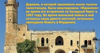 Палестинская деревня, где «Израиль» запретил ВСЁ..