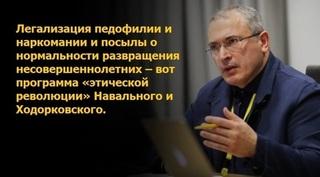 «Открытая Россия» Ходорковского занялась легализацией педофилии