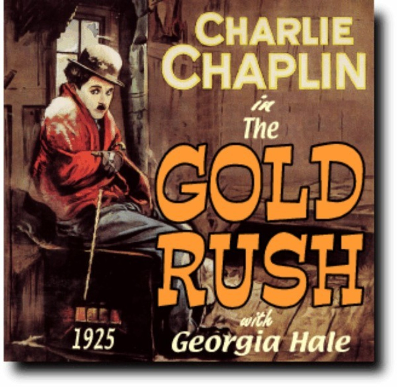 an analysis of the gold rush by charlie chaplin