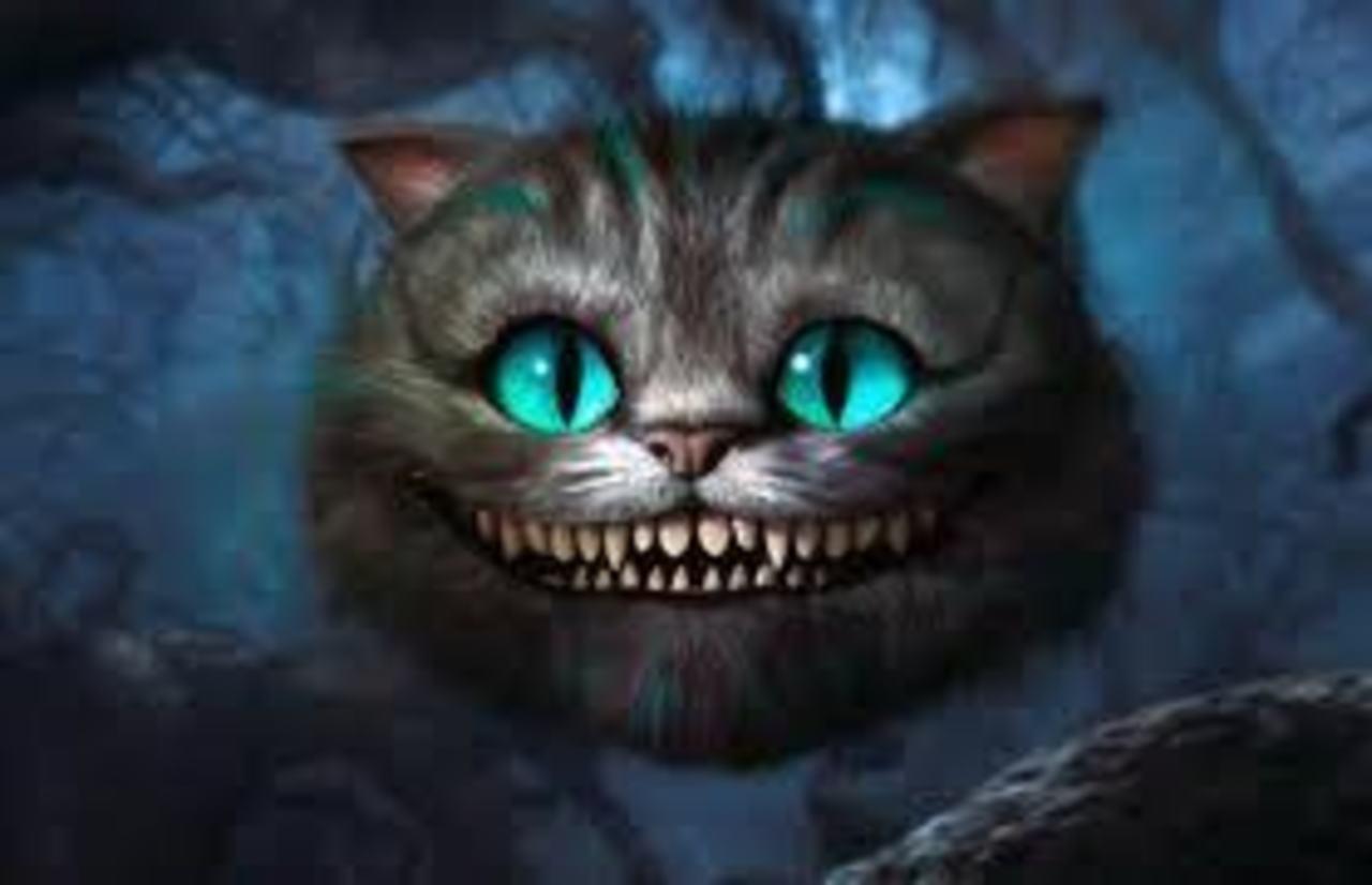Люди чеширский кот