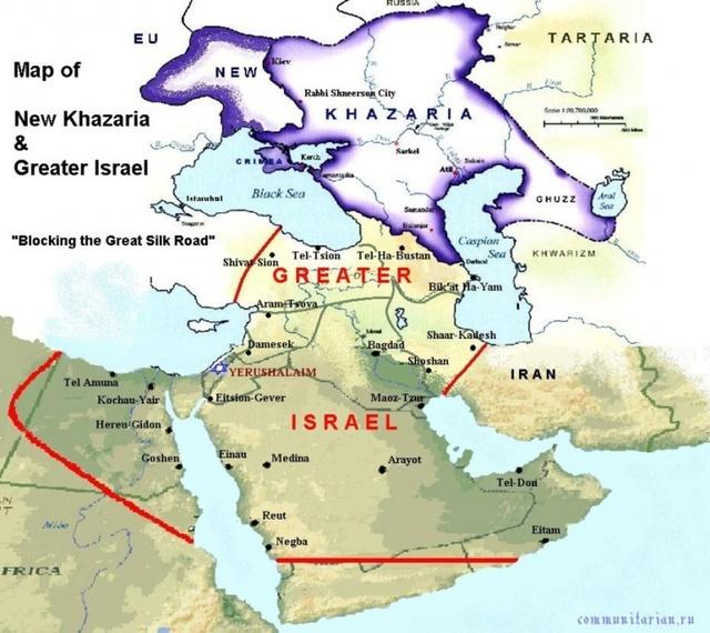 «Сетецентричная Хазария» и планы на «Эрец-Украйну»