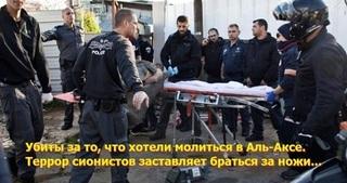 """Кровавый террор - родовое пятно """"Израиля"""""""